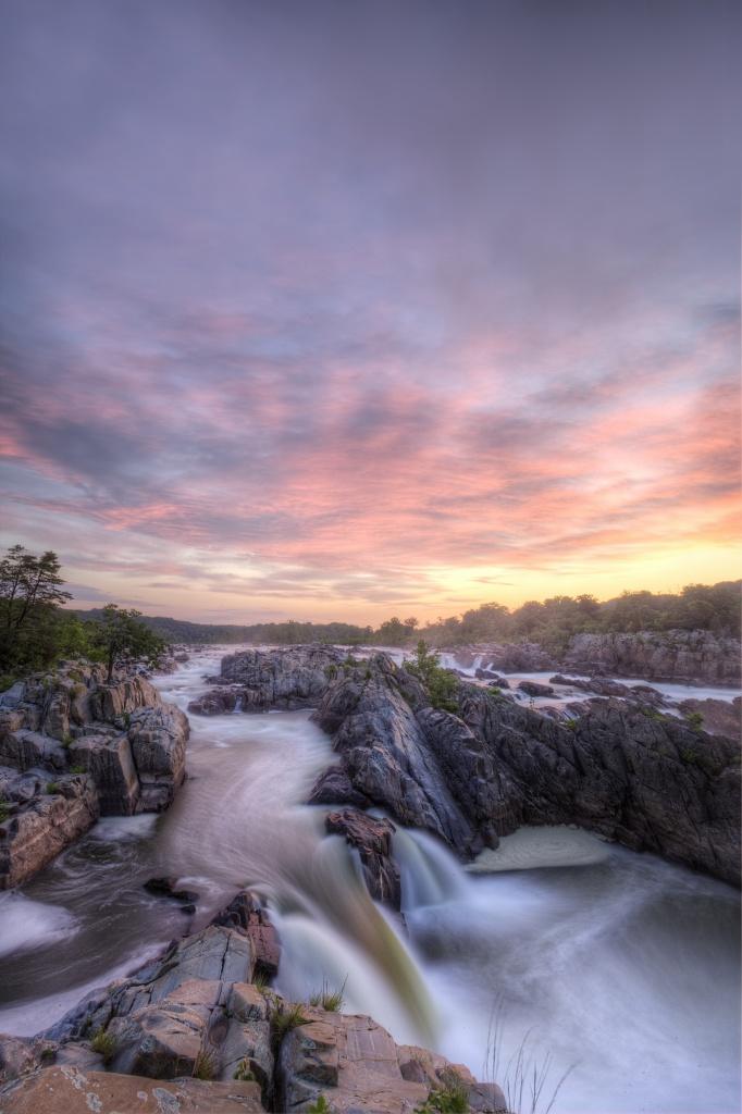 great-falls-park-sunrise