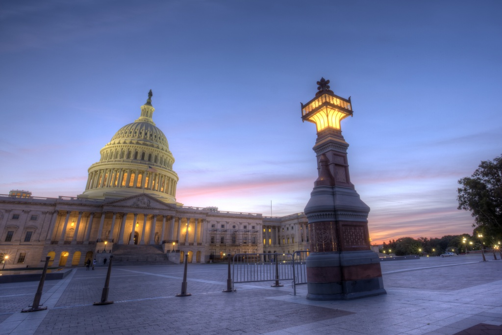 capitol, us capitol, government, united states, america, usa, sunset, street light, sky, blue, washington dc
