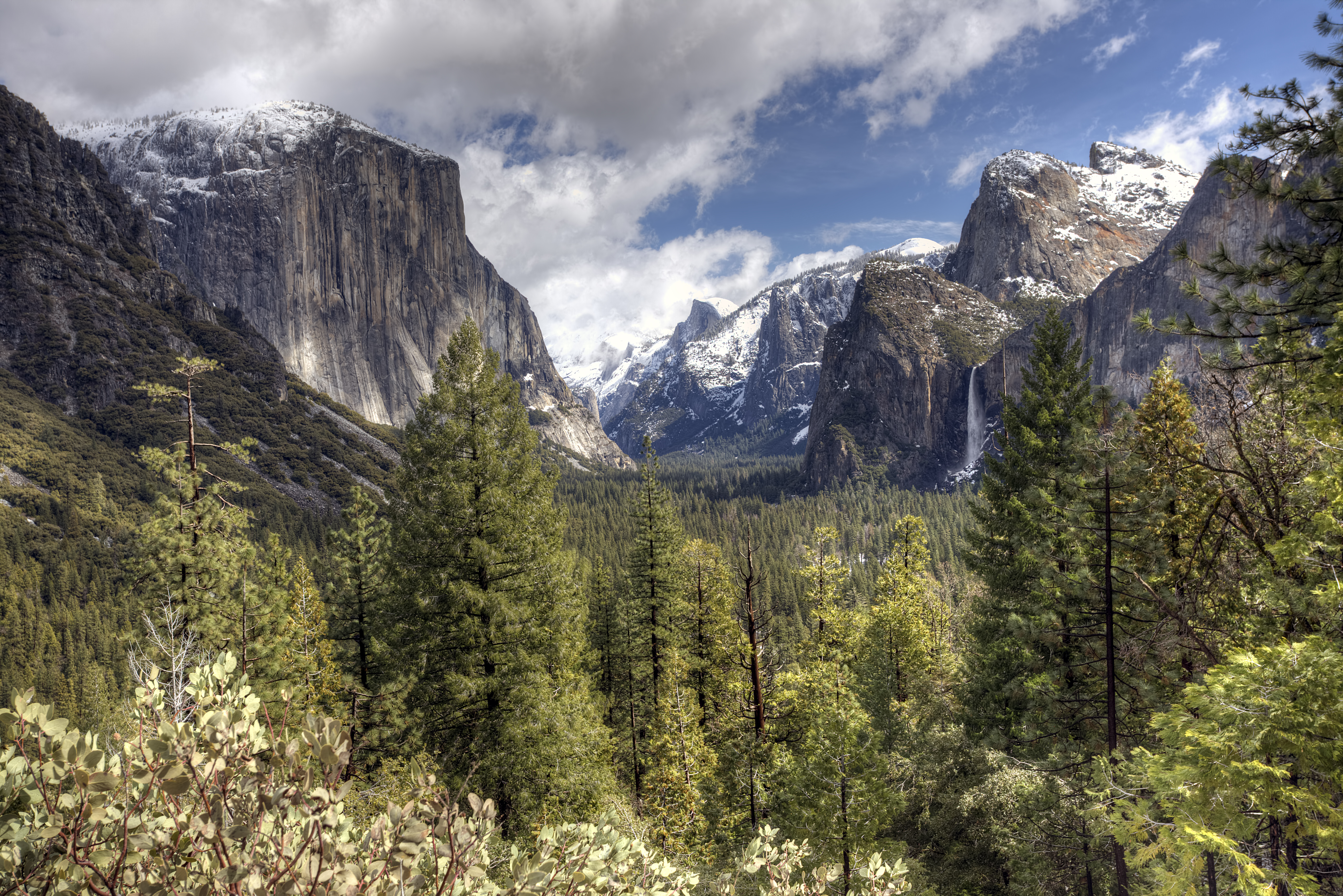 Bing Images - Yosemite Snow - Tunnel View in Yosemite National ...