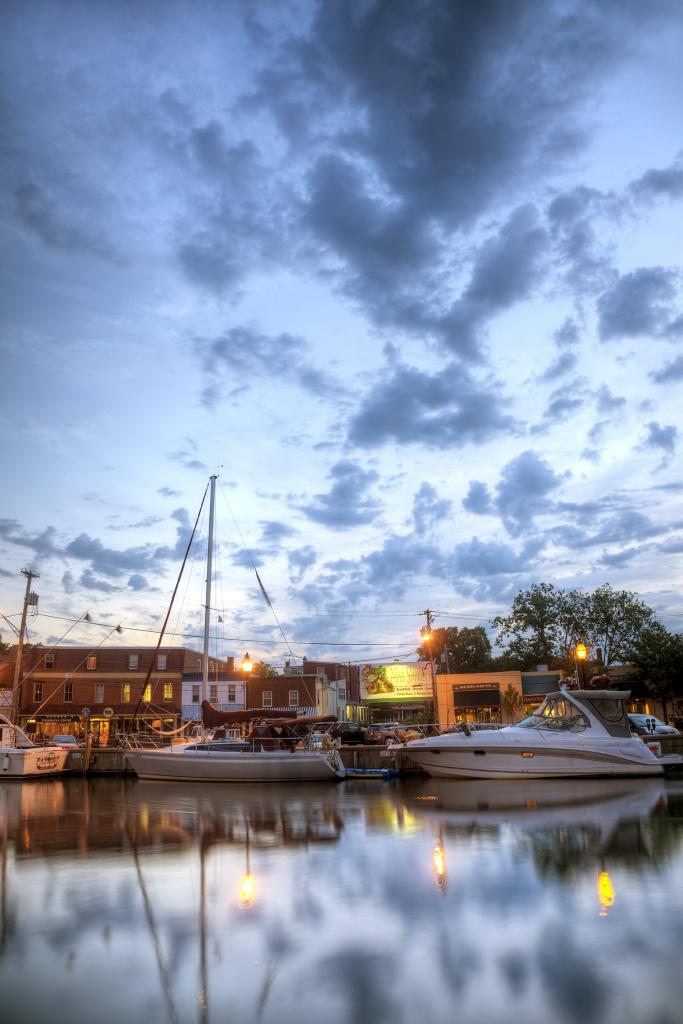 annapolis, nap town, maryland, md, boats, clouds, sunrise,