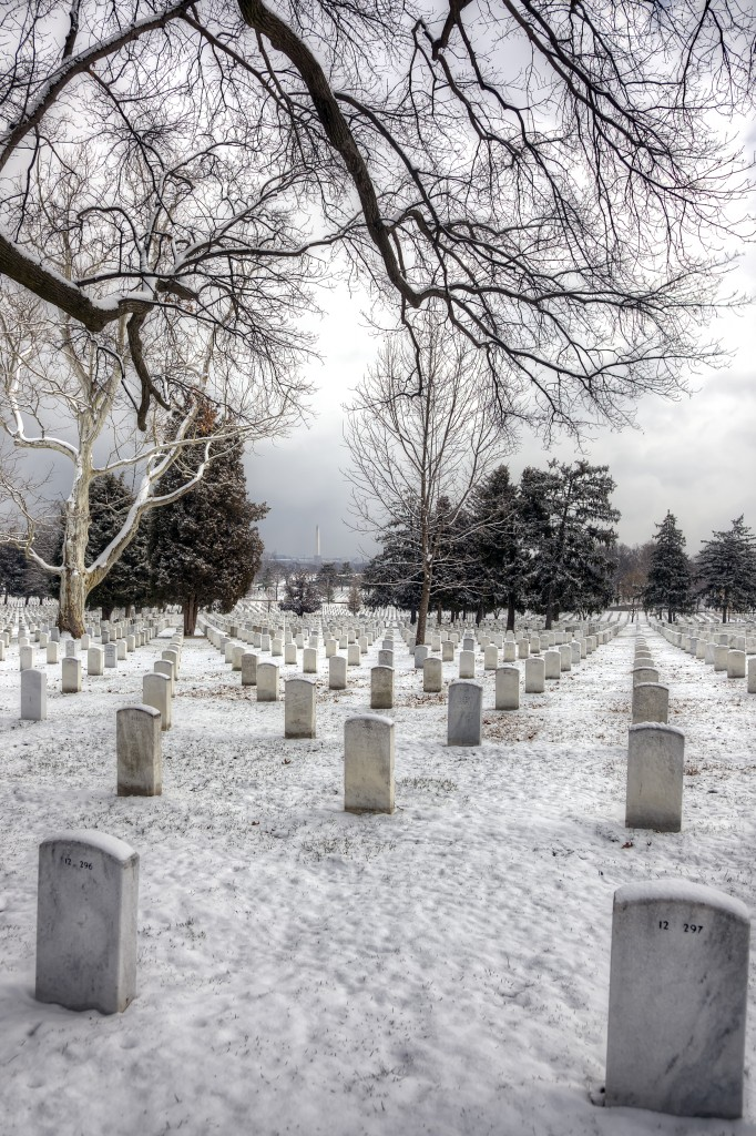 arlington national cemetery, snow, winter, graves, trees, va, travel, hdr, spring,