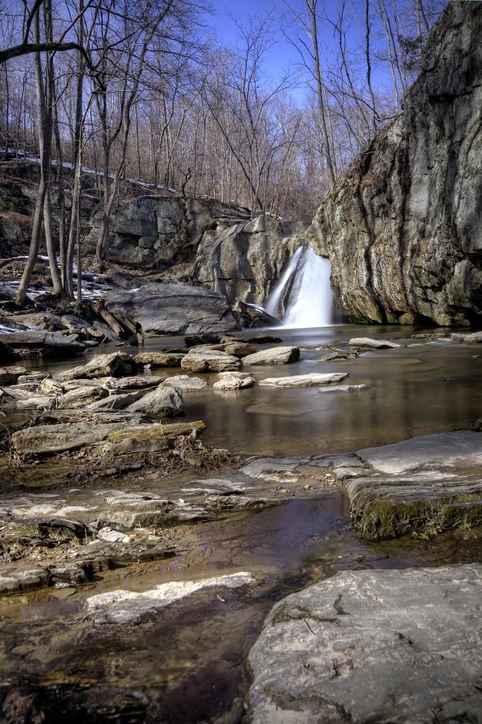 kilgore falls, maryland, rocks state park, md, travel, waterfall,
