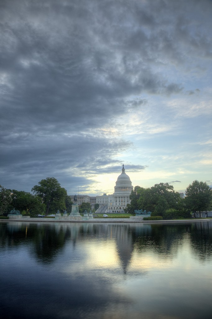 capitol, storm, clouds, reflecting pool, reflection, storm, us capitol, washington dc, congress, government