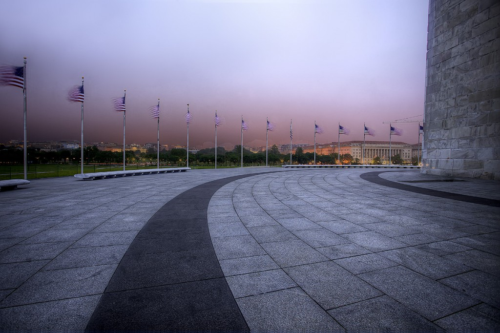 washington monument, storm, flags, american, lines, concrete, storm, washington dc, rain, memorial day weekend
