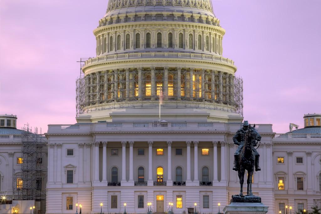 capitol, washington dc, sunrise, statue, architecture, capital, dome,