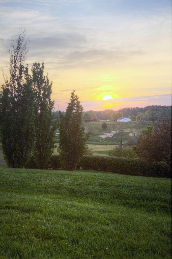 charlottesville, va, uva, sunrise, landcape, travel, trees,