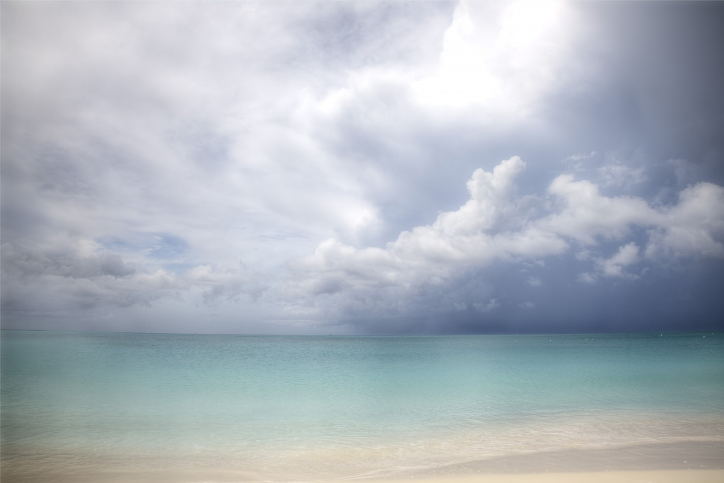turks and caicos, beach, clouds, caribbean, paradise, weather, ocean, atlantic,