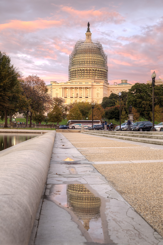 Capitol Building Scaffolding : Capitol