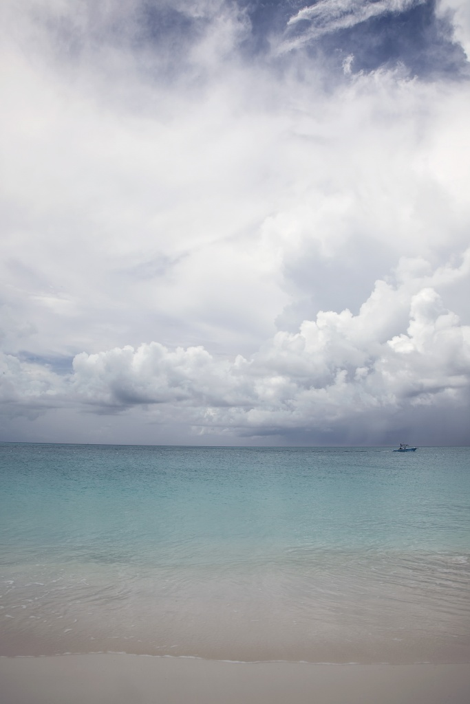 turks and caicos, island, ocean, clouds, boat, caribbean, beach, summer, vacation, scenic,