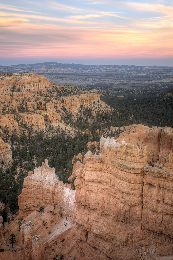 bryce canyon, national park, sunset, hoodoos, utah, travel, sunset point, america,