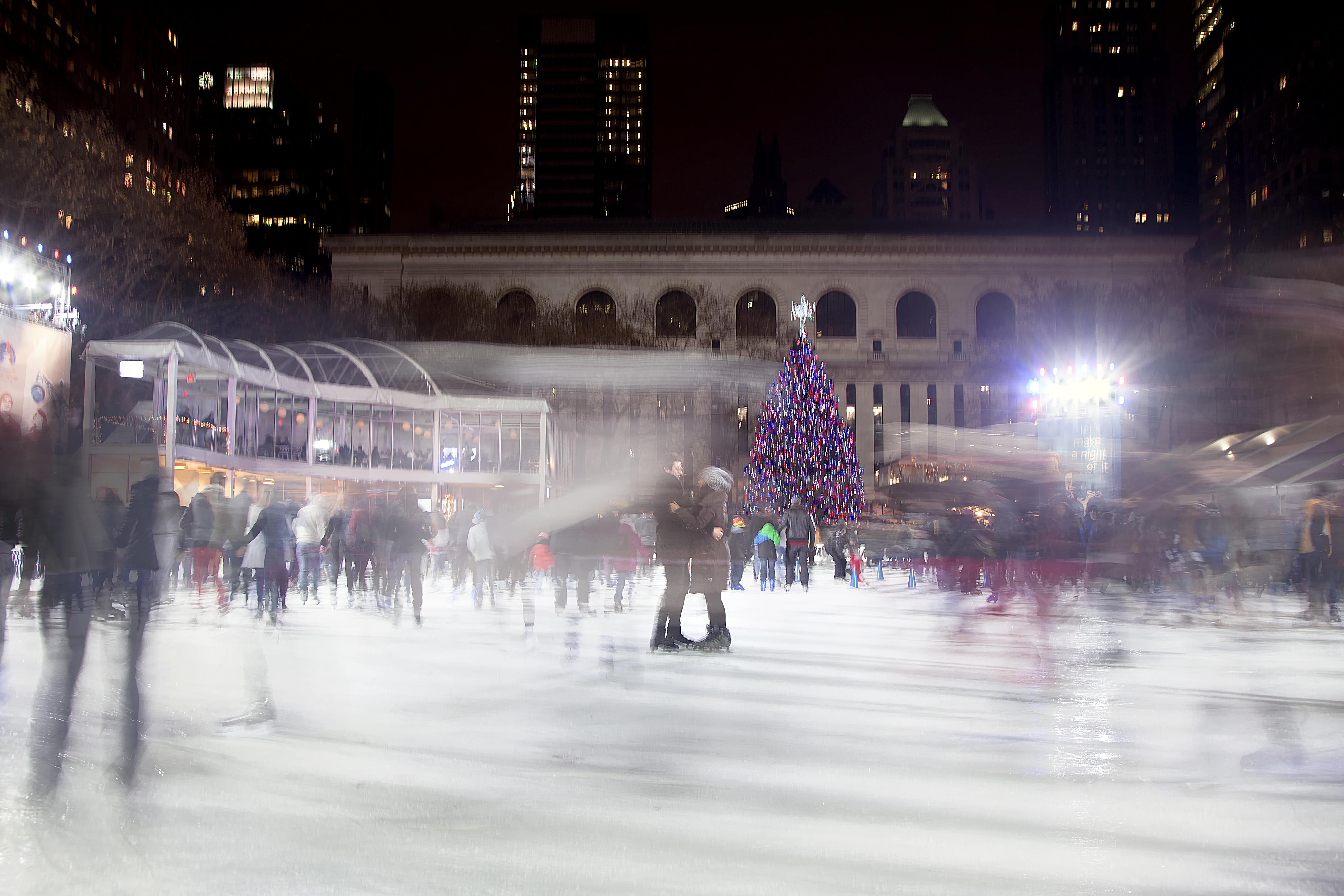 Christmas Ice Skating Rink