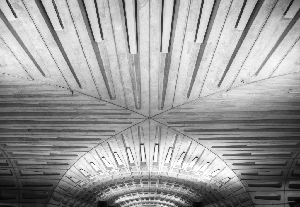 dc, washington dc, metro, transit, public transportation, subway, washington dc, metro station, architecture, lines, interior,