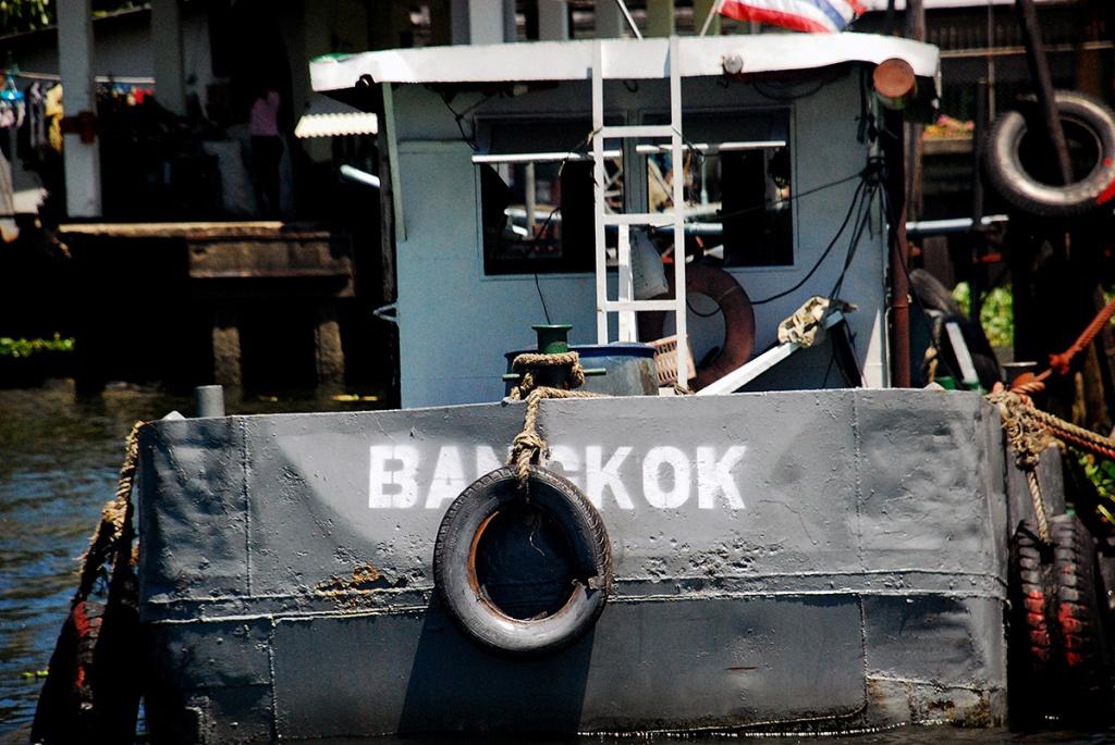 bangkok, thailand, river, taxi, boat,