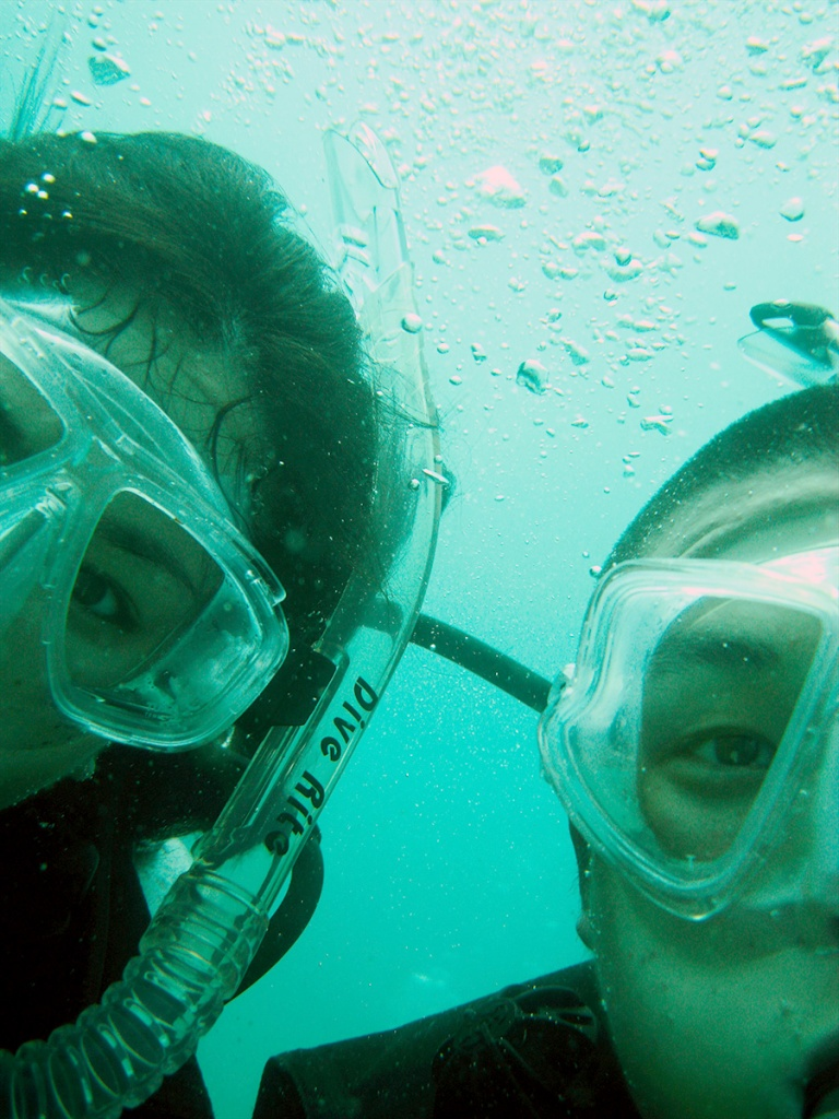 scuba diving, thailand, underwater, camera, fish, krabi, beach, ocean, asia,