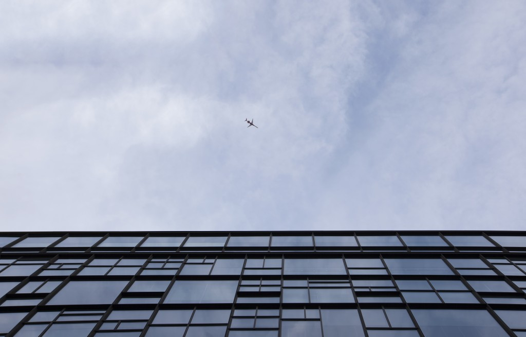 university, Pennsylvania, penn, upenn, levine hall, airplane, airport, travel, architecture, looking up