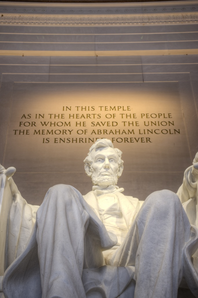 lincoln, abraham lincoln, temple, memorial, washington dc, visit, architecture, statue, art