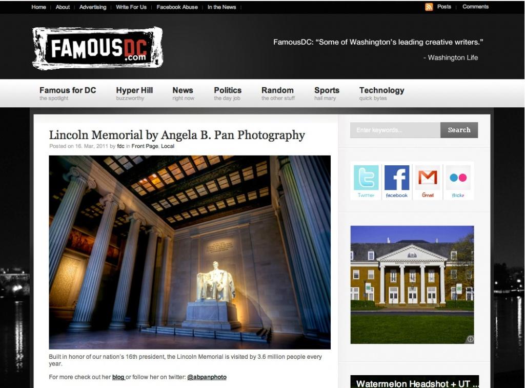 abpan photo lincoln-memorial-fdc-3.16.2011