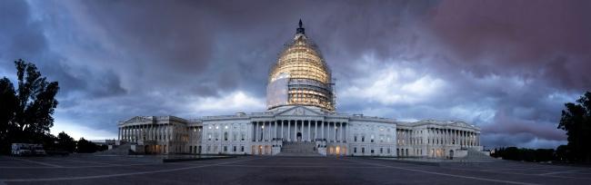 us capitol, storm, severe storm, architecture, rain, summer,