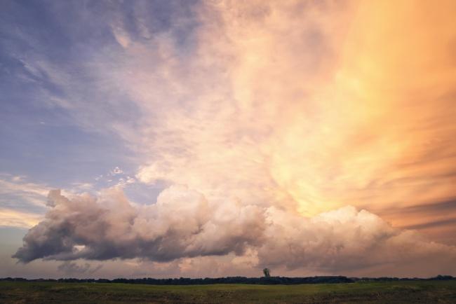 clouds, fairfax, virginia, va, landscape, clouds, storm, blue, orange,