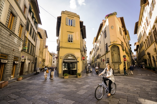 florence, italy, firenze, street, walk, bike, europe, european, street, visit, travel