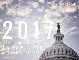 2017 wall calendar, washington dc, calendar,