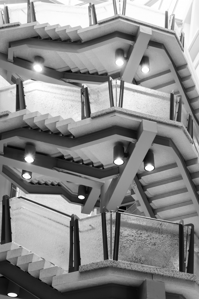natural history museum, smithsonian, cafe atrium, steps, architecture, black and white, esher, lights, lines