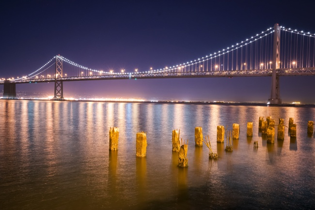 bay bridge, photowalk, trey ratcliff, san francisco, night, reflection, bay area, sfo, travel
