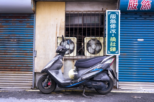 motorcycle, street, taiwan, bike, fans, taipei, travel