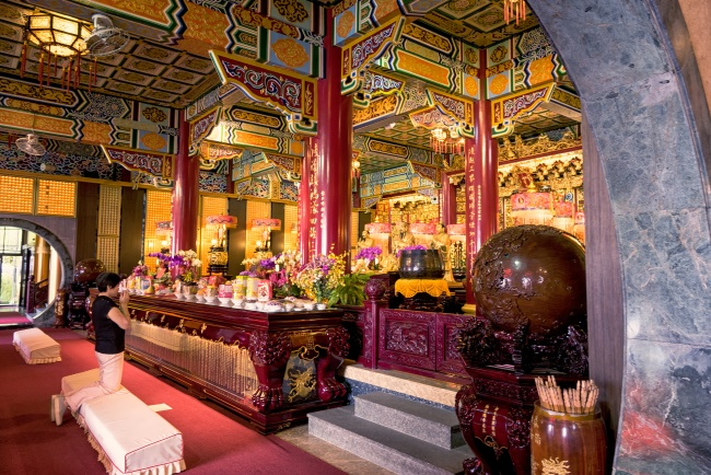 chih nan temple, houshan, muzha, zhinan temple, monkey mountain, taoist, taiwan, tourism, visit, travel