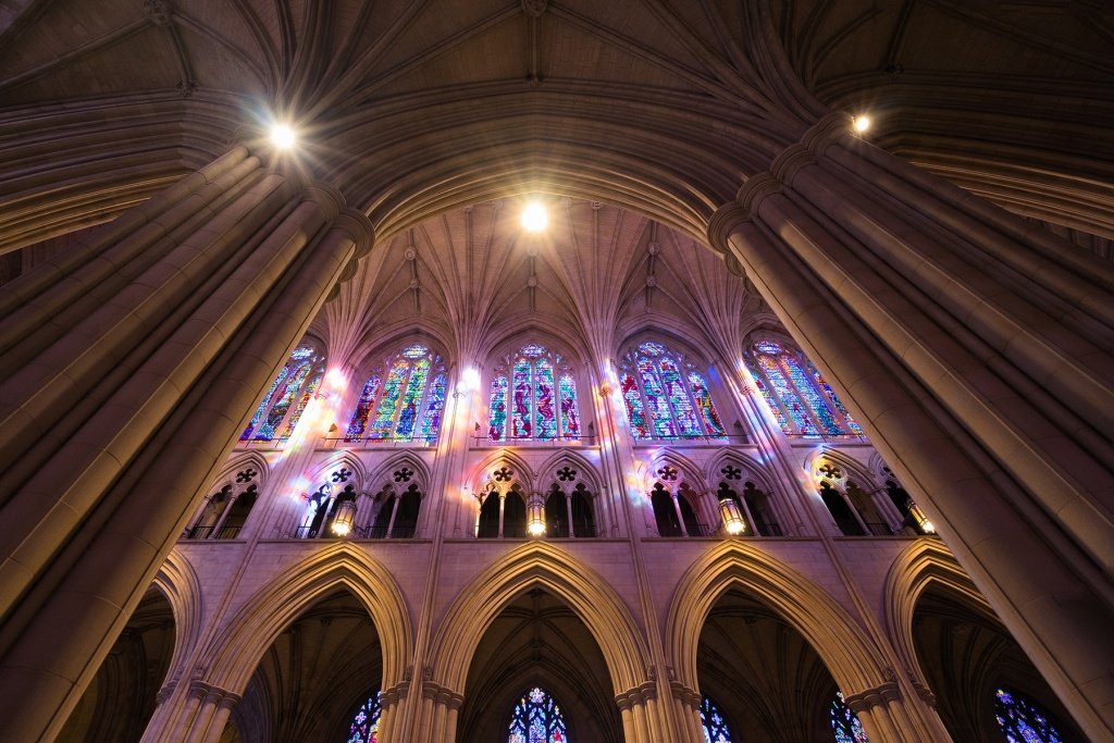 national cathedral, washington dc, architecture, stained glass windows, neo-gothic, cathedral church, saint peter, saint paul, episcopal church