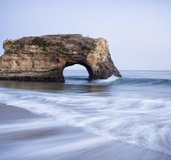 natural bridges state beach, california, state parks, ca, santa cruz, ca, beach, natural bridges, water, pacific,