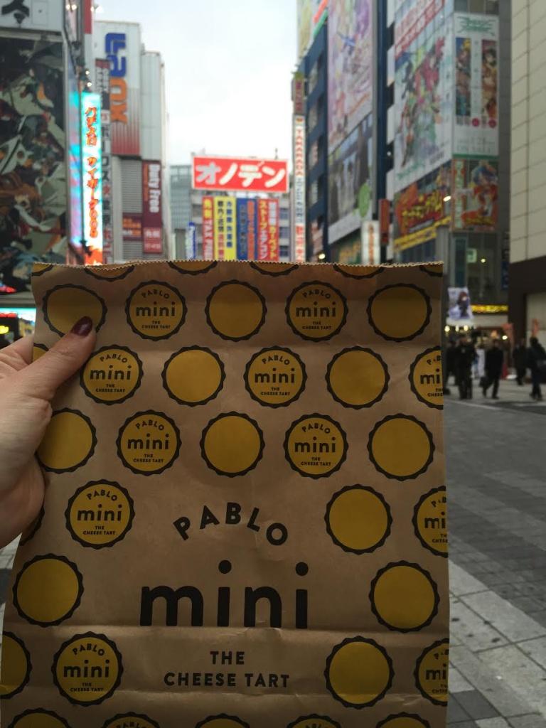 Pablo, mini cheese tart, dessert, food, japan, tokyo, pablo,