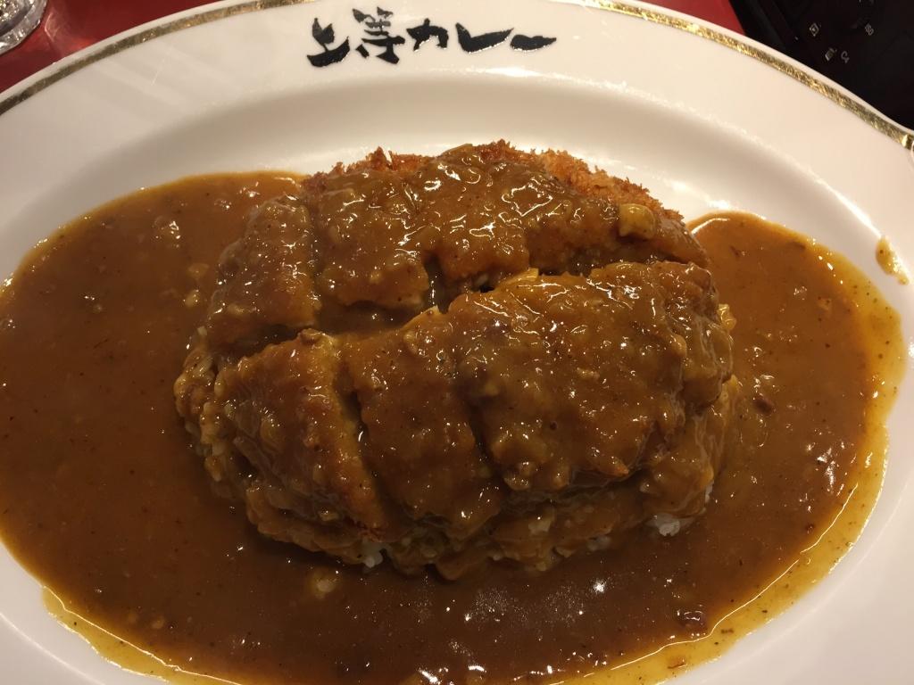 curry, joto curry, shibuya, japan, tokyo, good eats, dinner, lunch, rice, pork, fried, sauce, yum