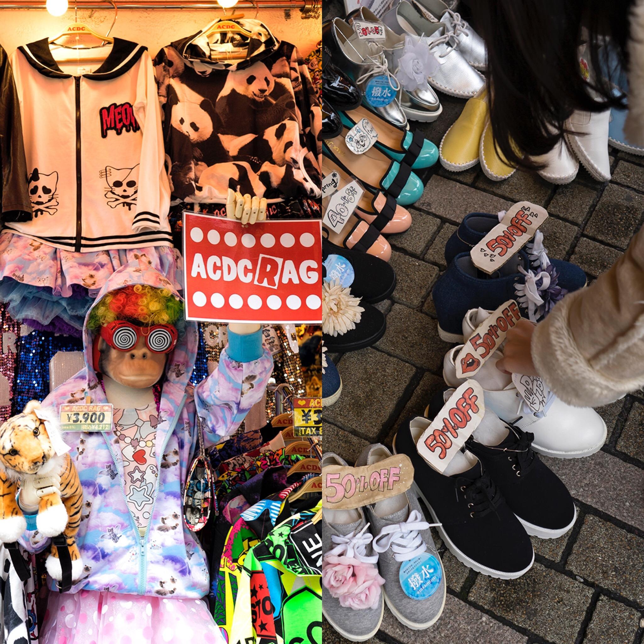 japan, tokyo, shopping, travel, visit, shoes, clothes, girls, street fashion,