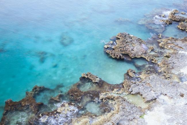 cozumel, mexico, balcony, shore, rocks, water, caribbean, ocean, blue, island, scuba