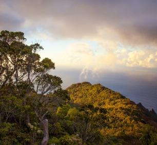 kauai, hawaii, pacific, hike, Hanakapiai Beach Hike, sunset, Na Pali Coast, seacliffs, peaks, kee beach, north shore, travel, island, scenic
