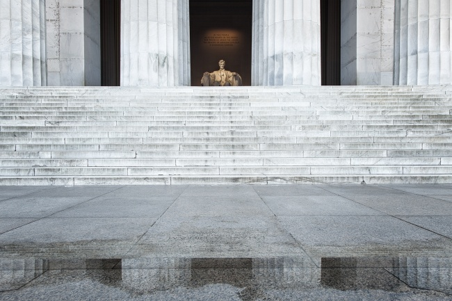 lincoln memorial, columns, reflection, washington dc, columns, national mall, national park service, america, abraham lincoln,