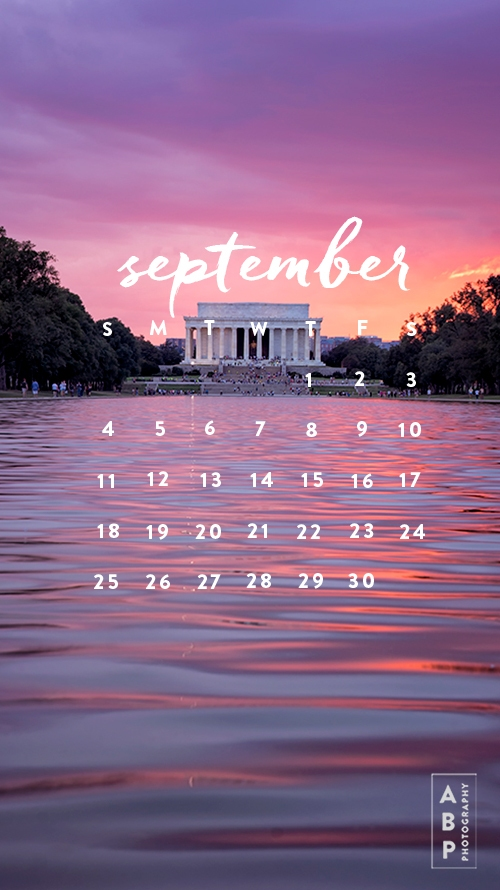 September Wallpaper Download Angela B Pan