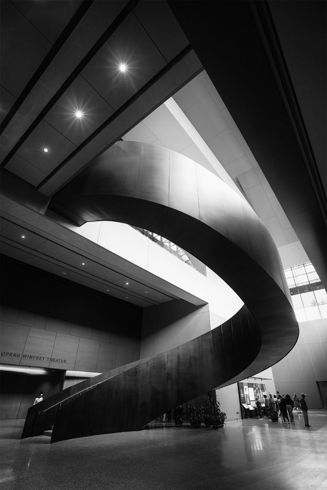 smithsonian, museum, national museum of african american history and culture, black and white, architecture, stairs, opening, washington dc, interior, inside, open