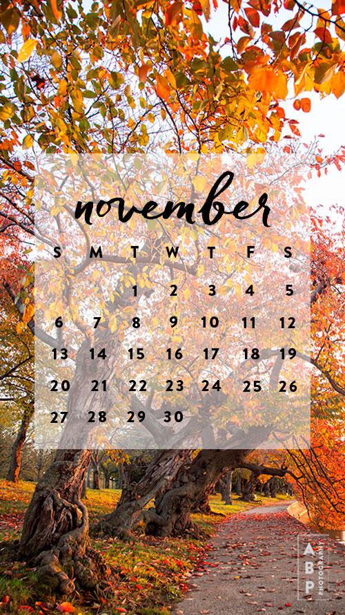 November-Wallpaper Download_Angela B Pan