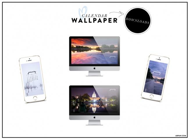 Calendar, downloads, free, wallpaper, desktop, iphone, angela b pan photography, washington dc, snow, winter