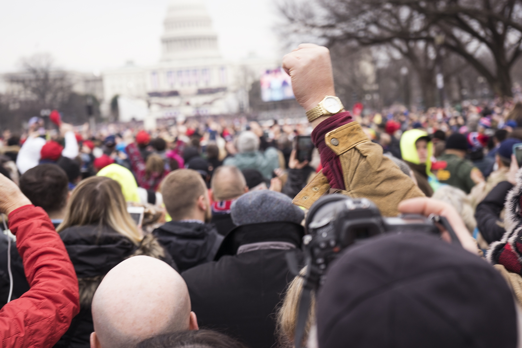 inauguration, 2017, president elect, donald trump, protest, january 20, washington dc, people, street,