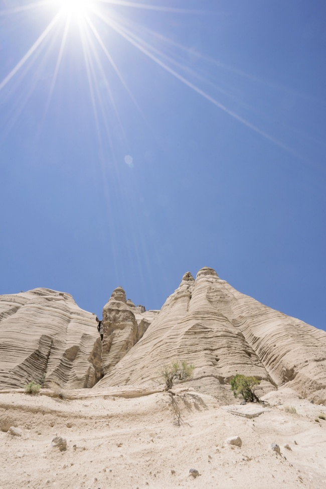 Tent Rocks, New Mexico, kasha katuwe, national monument, white rocks, formations, christmas tree, pinterest, hike, trail, slot canyon, water, hot, santa fe, albuquerque, nm, climb, scenic, hike,
