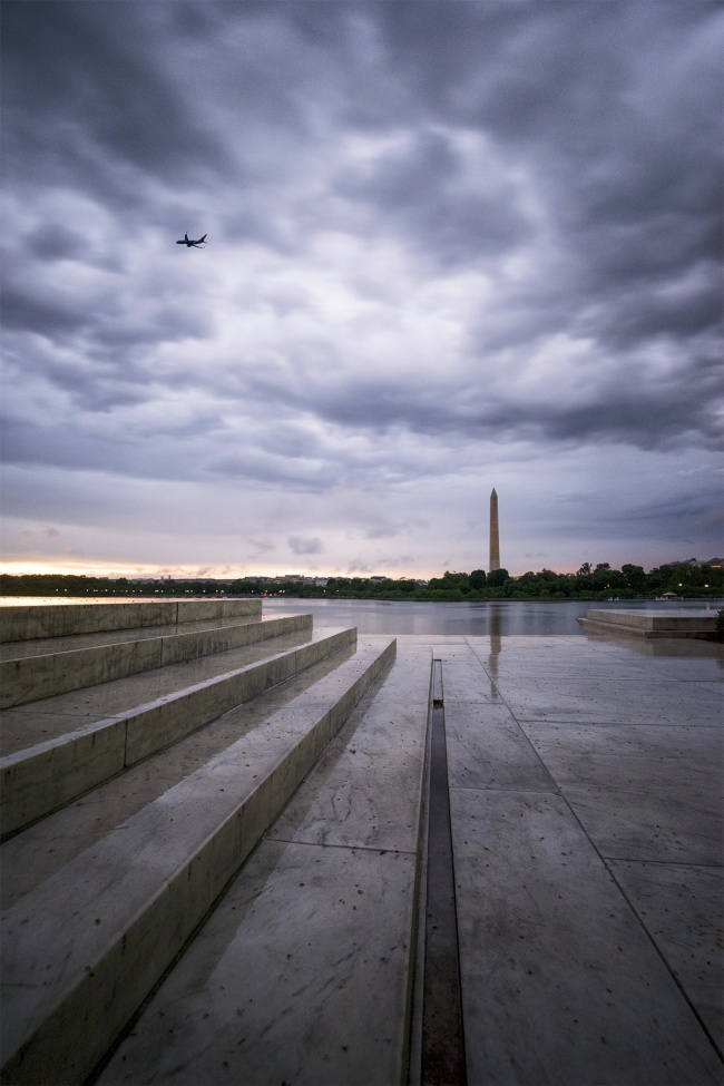 instagram, washington dc, jefferson memorial, washington monument, steps, reflection, rain, storm, clouds, sunset, airplane, tidal basin, reflective, social media, blog, facebook