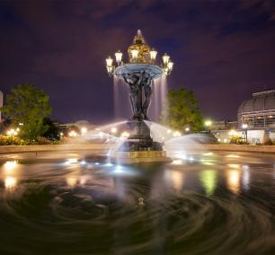 Bartholdi Park, Bartholdi fountain, washington dc, night, long exposure, botanical garden, Fréderic Auguste Bartholdi, architecture, designer, fountain, water, southwest, dc, washington dc, independence ave,