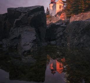 Bass Harbor Head Light, acadia national park, maine, east coast, sunrise, neutral density filter, long exposure, climb, tripod, sony, a7ii, southwest, blue hill bay, mount desert island,