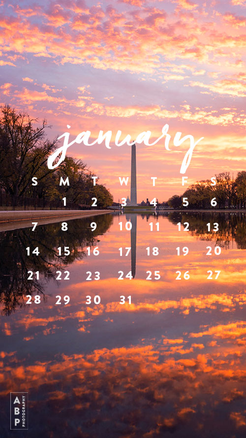 January Wallpaper Download_Angela B Pan