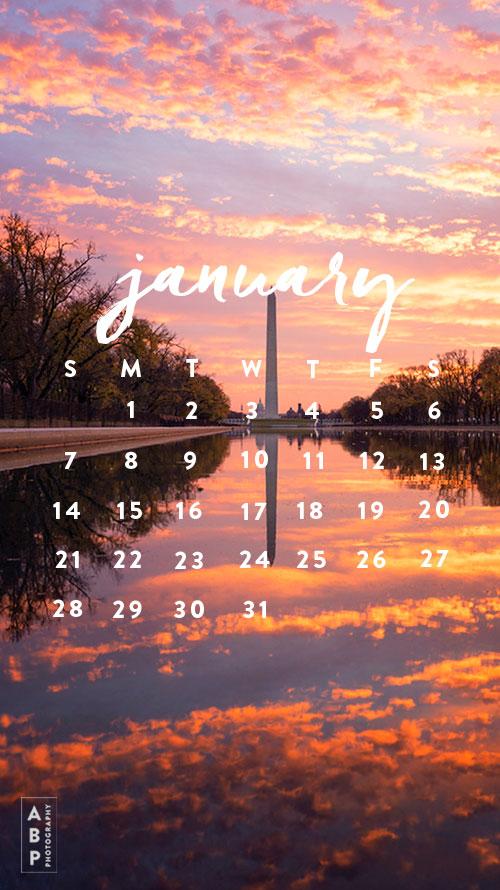 January Wallpaper Download_Angela B Pan