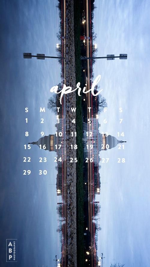 April Wallpaper Download_Angela B Pan