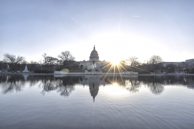 Double Sun Burst, washington dc, us capitol, capitol building, reflecting pool, dome, capitol hill, nation's capital, sunrise, sun, early morning, igdc, photowalk, meetup